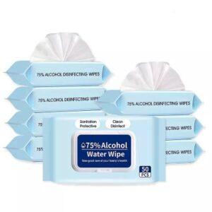DrQ – 75% Alcoholic Wet Wipe (50pcs)