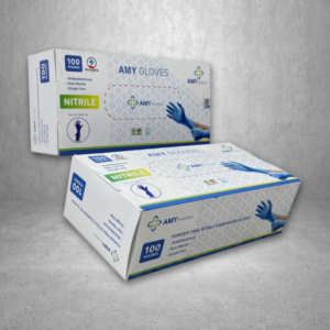 Amy Pharma Nitrile Examination Glove, $16.99/Box – 169.90/Case (10 Boxes)
