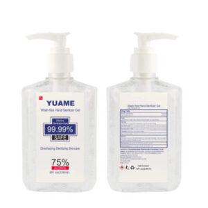 Yuame – Alcoholic Hand Sanitizer (300ml), (10.56fl oz)