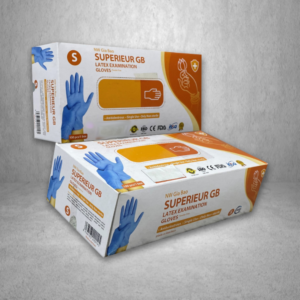 Superieur GB Latex Examination Glove, $11.99/Box – 119.90/Case (10 Boxes)