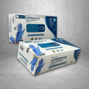 Superieur GB Nitrile Examination Glove,  $15.99/Box – 159.90/Case (10 Boxes)